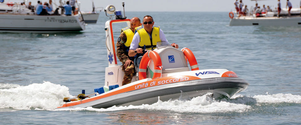Waterjet Assistance Boat